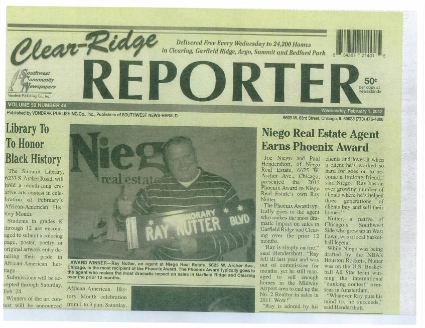 Garfield ridge newspaper
